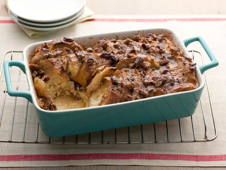 Baked French Toast Casserole with Maple Syrup recipe from Paula Deen via Food Network