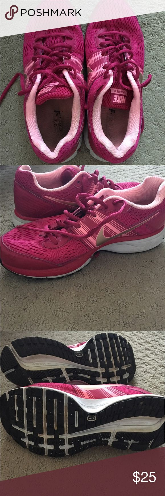 Nike Pegasus 29 Shoes Pink/magenta Nike Pegasus 29, in good condition, very comfortable! Nike Shoes Athletic Shoes