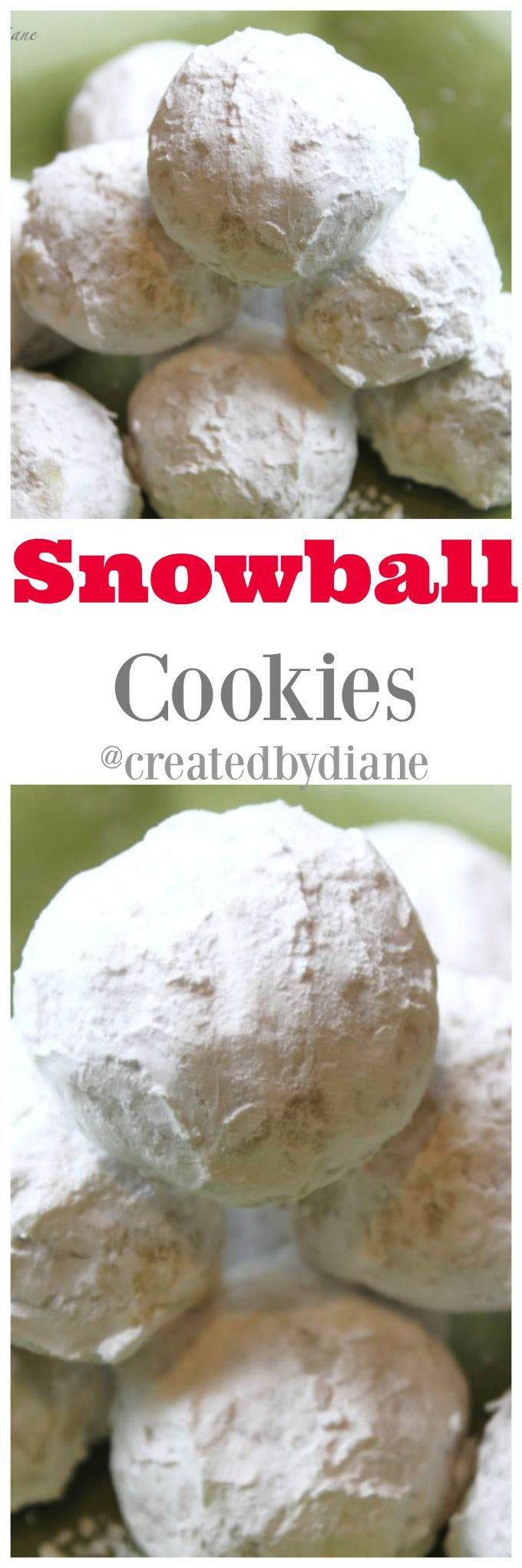 these cookies look like snowballs and are easy and delicious cookies to make for any occasion, mexican wedding cookies, italian wedding cookies