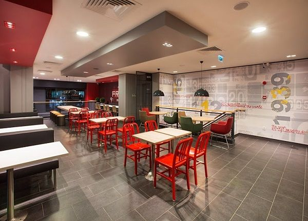 Design Showcase New KFC Format For Turkey