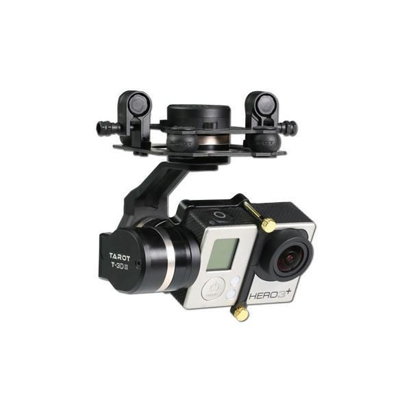 Tarot GOPRO 3D Metal CNC 3 Axis Brushless Gimbal PTZ for GOPRO 4 3+ 3 FPV Quadco  | eBay