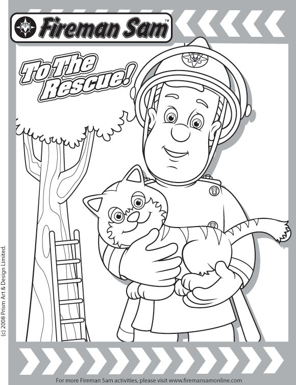 Awesome Adventures Rescue Friends On Dvd The Review Wire Fireman Sam Colouring Pages Coloring Pages