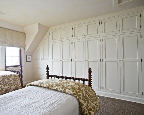 So ideal for a master bedroom. I'd love to not have a dresser taking up space.
