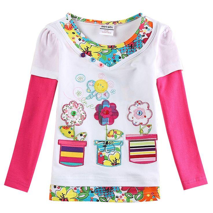 Купить товар2 конструкций детская одежда нова одежда для новорожденных девочек футболки футболки дизайн вышивки цветы дети футболки детские тис в категории Безрукавкина AliExpress.             Внимание:         Вы заказываете товар до, Plaese отметьте, какой вам нравится, или мы пошлем ег