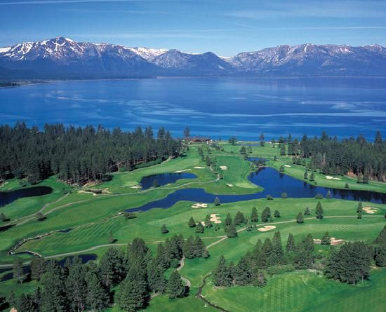 Lake Tahoe - south side of the largest Alpine Lake in North America. Jaw-dropping vistas!