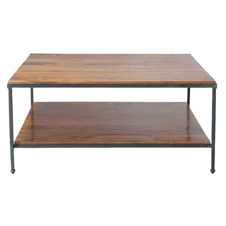 The Luberon Square Coffee Table Is A Sleek Wood Coffee Table With A  Contemporary Style, A Wood Living Room Table Suitable For All Types Of.