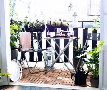 Small Patio Decorating | House & Home