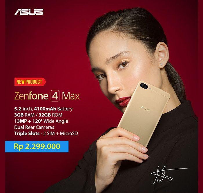 Harga dan Spesifikasi ZenFone 4 Max, Ponsel dengan RAM 3 GB