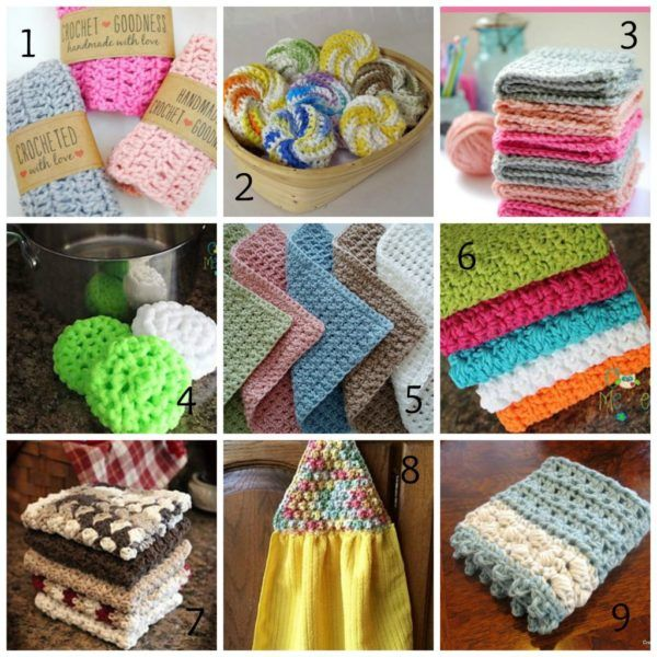 10 Lovely Washcloth, Tawashi & Dishcloth crochet patterns Here we stumble upon my favorite- washcloth, & dishcloth crochet patterns! I am completely obsessed with making small projects that yield quick satisfaction. Not to mention, they make amazing gifts! So, let's talk about the differenc