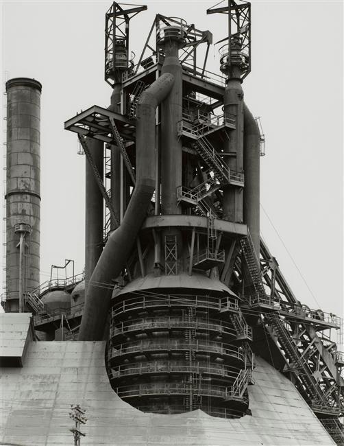 Bernd & Hilla Becher, Blast Fumace, Esch sur Alzette, 1981