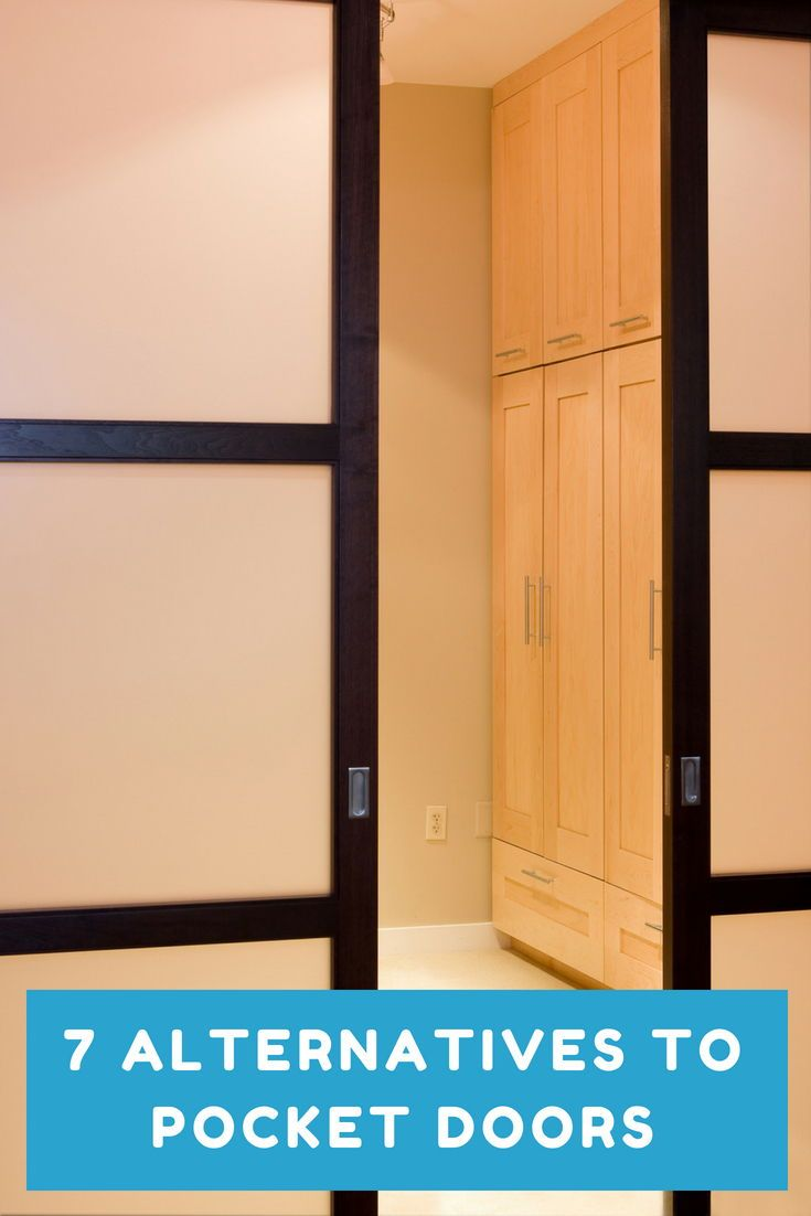 7 Alternatives To Pocket Doors Pocket Doors Space Saving Doors Closet Door Alternative