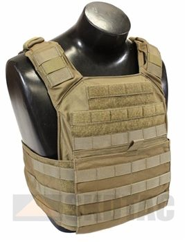 Shellback Tactical Banshee Rifle Plate Carrier in Multicam $127.95.  My Platoon Sergeant says this is the most comfortable basic plate carrier he's ever worn.  It is not bad.  A good easy one for home that is not as expensive as the Crye CPC/JPC.