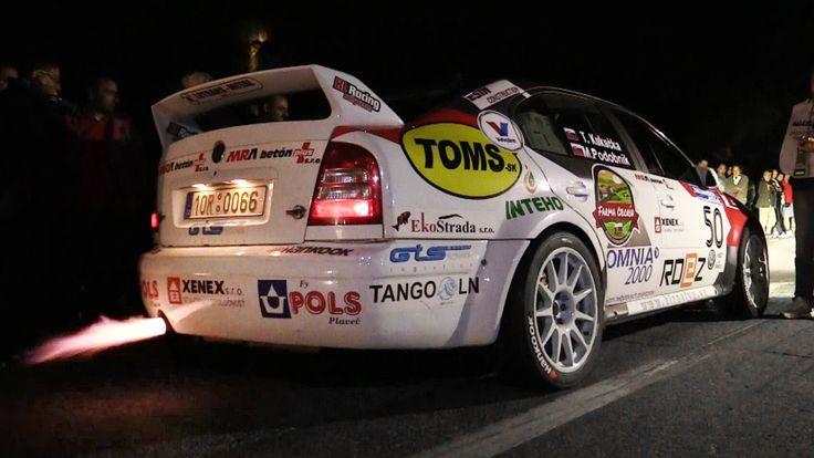 Škoda Octavia WRC Launch Controls, Anti-Lag Backfires & Pure Sounds