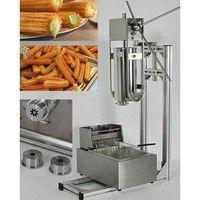 Size: Churro machine:58x34x33cm      Working stand:91x44x32cm      Deep Fryer:28x44x32cm  Power (W):
