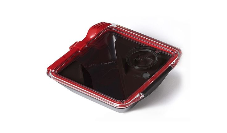 MONOQI | Appetit Lunchbox - Schwarz/Rot