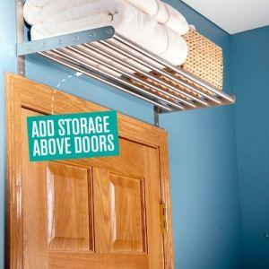 Додати зберігання при температурі вище двері