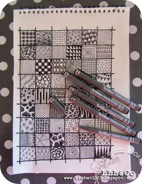 *LLL og Co.*: At tegne mønstre i sort/hvid ...