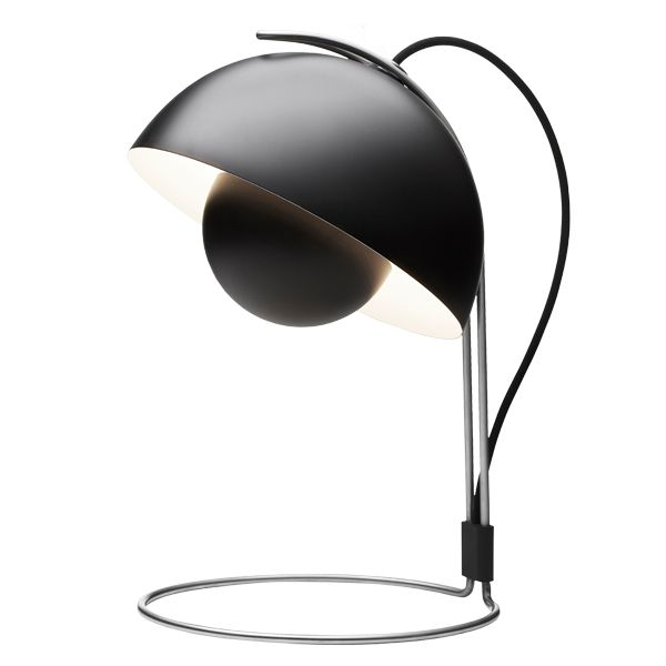Flower Pot VP4 table lamp, black 300