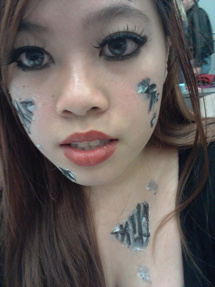 17 Best Images About Robot Make Up On Pinterest