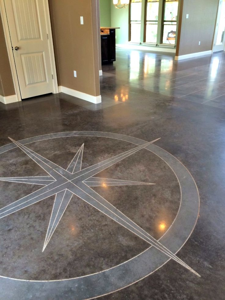 48 best arkansas decorative concrete contractors images on for Stained polished concrete floor