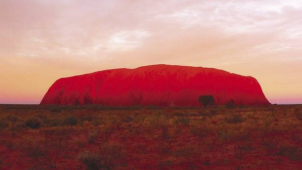 The Red Centre, Uluru, Australia.