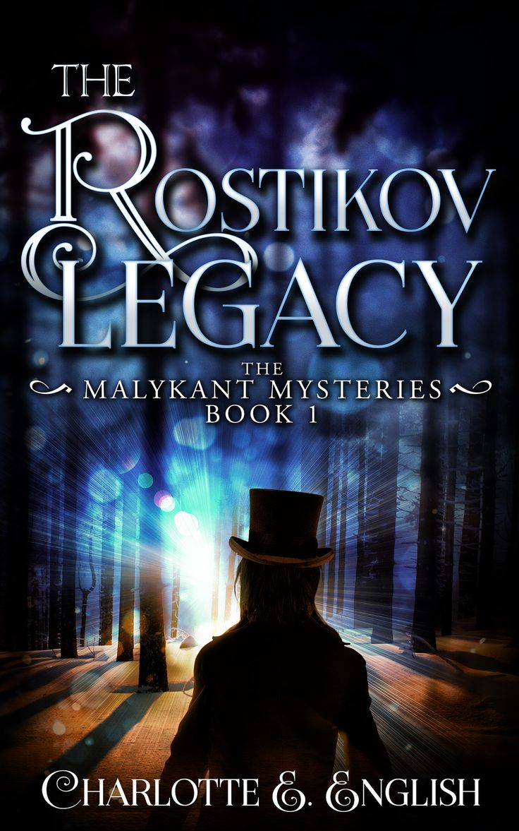 Cover for The Rostikov Legacy, by Streetlight Graphics