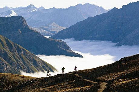 Do you like to bike the world from the top? #Livigno #Carosello3000  Photo_by_Markus_Greber