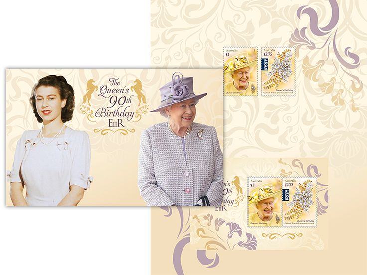 Stamp pack - Queen's 90th Birthday
