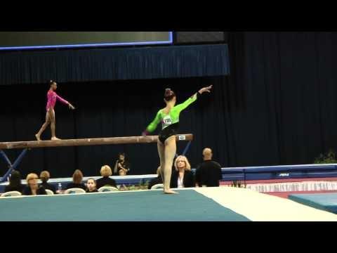 Madison Desch -- Floor Exercise -- 2012 U.S. Secret Classic