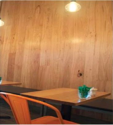Hardwall is a natural timber wall lining that offers a very unique industrial look that will transform the identity of a space, creating a raw modern atmosphere.