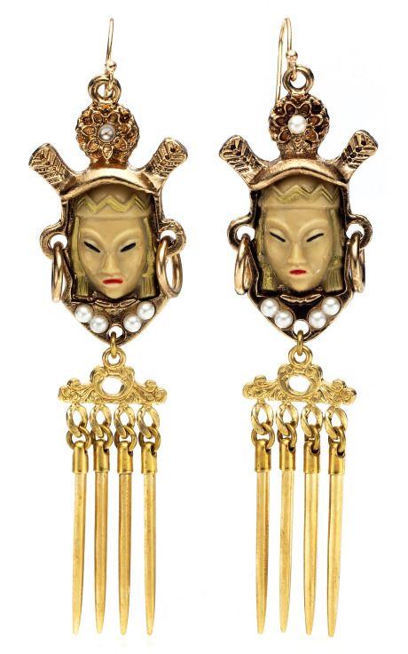 Lulu Frost Buddha earrings