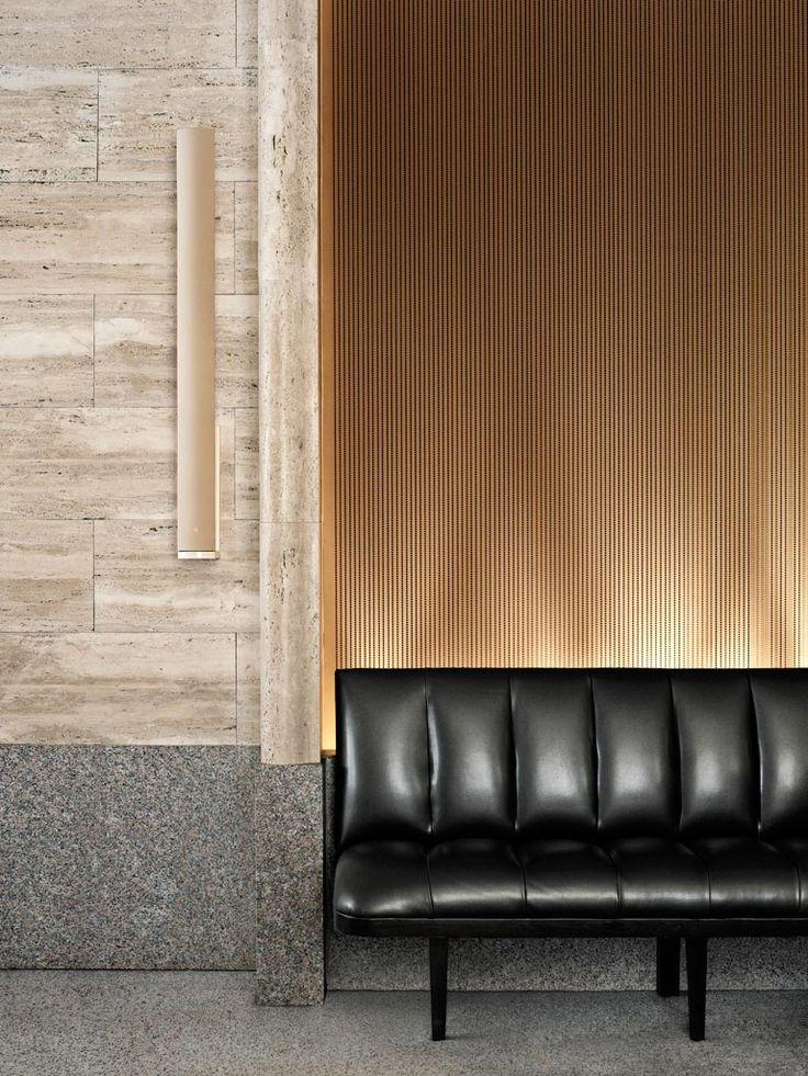 park hyatt milano | reception waiting area | textures | wall finishes