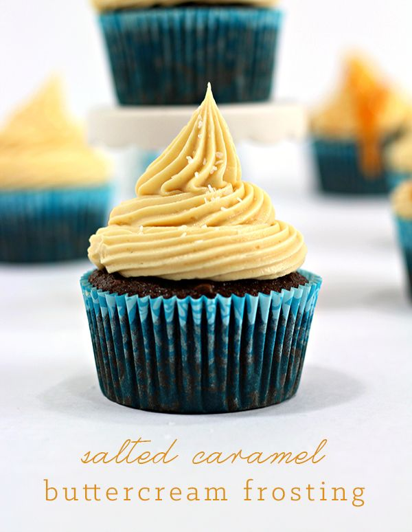 This is an amazing homemade salted caramel buttercream frosting, using homemade salted caramel! Super easy and so YUMMYYY!!