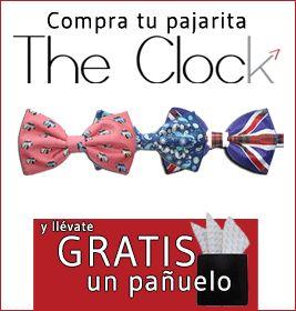 COMPRA PAJARITA THE CLOCK Y LLÉVATE PAÑUELO GRATIS