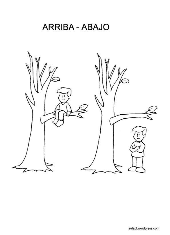 Concepto arriba y abajo Preescolar - Imagui