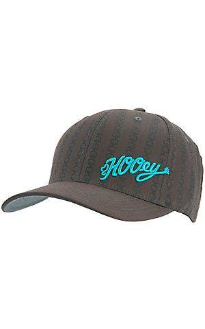 HOOey® Dark Grey w/ Turquoise Logo Cap | Cavender's   sz s/m