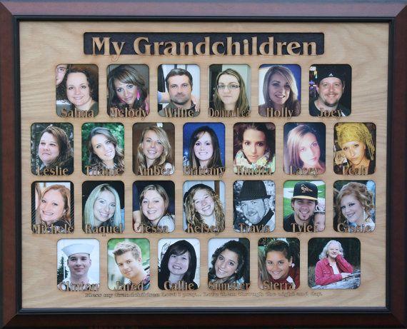 Best 17 Name Frames & Grandkids Picture Frames Etc. images on ...