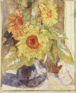 Else von Schmiedeberg - Blume (1876 Worbis, Sachsen - after 1927 )  German portrait and landscape painter, woodblock- and linoleumprinter