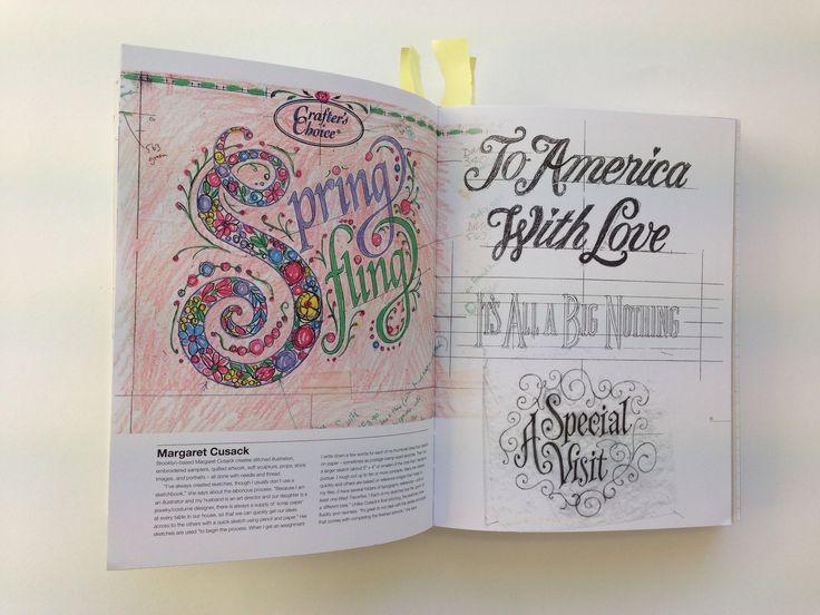 margaret cusack from typography sketchbooks steven heller and lita talarico sketchbooks