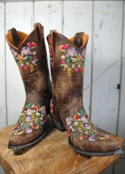 I wishShoes, Cowgirl Boots, Painting Cowboy Boots, Clothing, Sweets Girls, Country Girls, Painting Flower, Flower Cowboy Boots, Cowgirls Boots