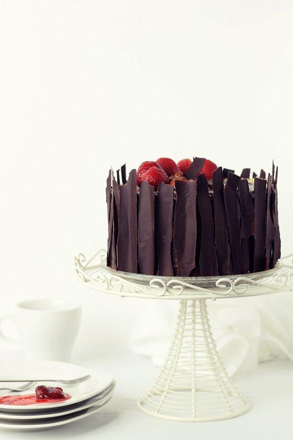 Tort rapid cu mousse de ciocolata | Pasiune pentru bucatarie