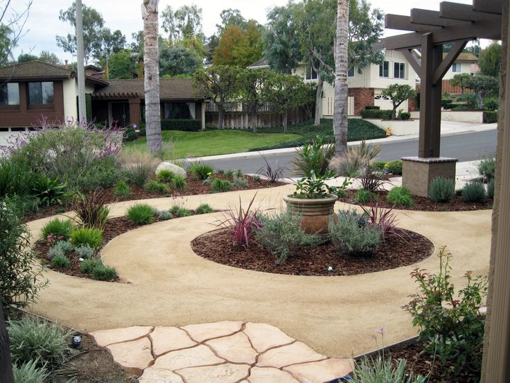 17 best images about fronyyard drought resistant on for Landscaping without plants