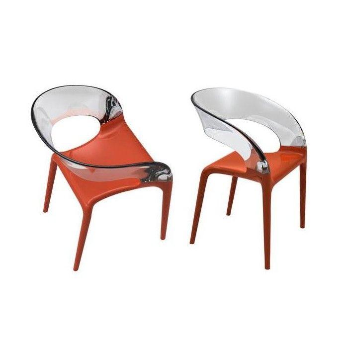 15 mejores im genes sobre sillas transparentes en for Sillas cocina transparentes