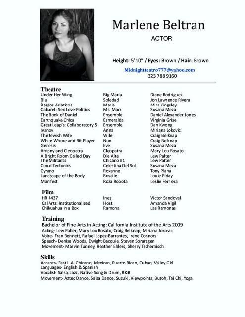 resume example acting templates template related keywords amp suggestions long tail