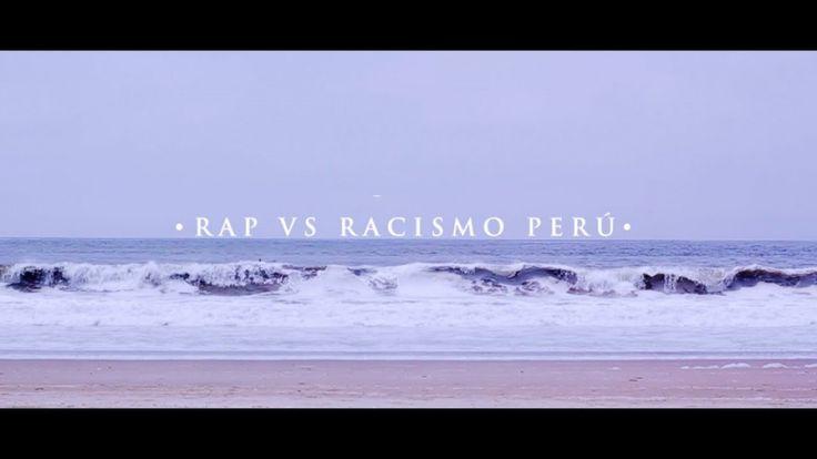 """Orgulloso de que Perú se una a la familia de """"Rap vs Racismo"""". Esto demuestra una vez más que el Hip Hop funciona como herramienta útil para enfrentar problemas reales. El Chojin - Rap vs Racismo Perú (Identidad) https://youtu.be/4DjO43XG72c"""