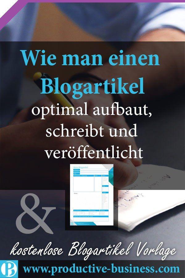 blogartikel-schreiben – Modernes Marketing