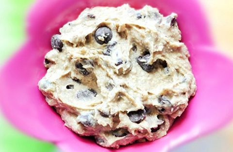The original healthy cookie dough dip recipe that has taken the blog world by storm. It looks and tastes like cookie dough, yet it's secretly GOOD for you!