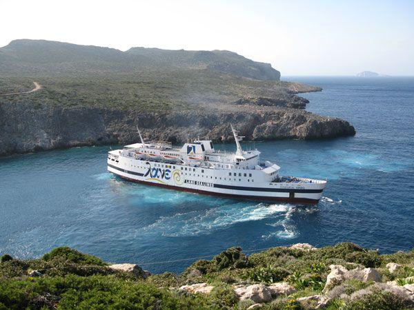 #Ferry Vitsentzos #Kornaros #Antikythira #Kythira #Greece http://www.information.kythira.info/en/kornaros/