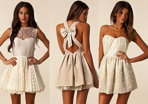I NEED ♥: Bows Dresses, Cute Dresses, Receptions Dresses, Dinners Dresses, Bridal Shower, White Lace, Bows Back Dresses, Little White Dresses, Lace Dresses