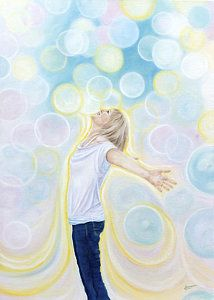 Prophetic Art Painting - Delight Filled Glory Carriers by Jeanette Sthamann
